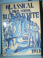 Blue White 1943 cover